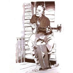 Banjo Siebdruck